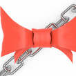 Bow and chain — Stock Photo #22328761
