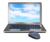 Laptop computer — Stock Photo