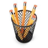 Držák s tužky — Stock fotografie