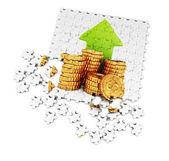 Making money concept — Стоковое фото
