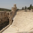 Stock Photo: Odeum theater Athens