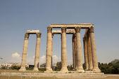 Zeus-tempel, denkmal der alten architektur. — Stockfoto