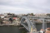 Portugal. The bridge through the river Douro. — Stock Photo