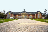 Muenster. Vestfalstky university — Stock Photo