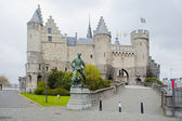 Antwerp. Steen's ancient castle. — Stock Photo