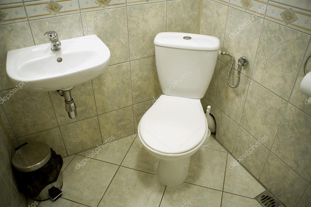 一个厕所有两个马桶