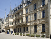 Luxembourg. Palace of the Grand Duke of Luxembourg, — Stock Photo