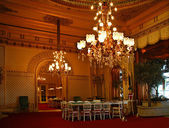 Baden-Baden. Magnificent hall of the casino. — Stock Photo