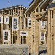 New House Constructed — Stock Photo