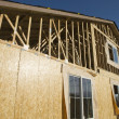 Home Under Construction — Stock Photo