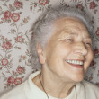 Stock Photo: Elderly Woman Smiling