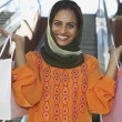 Happy Woman With Shopping Bags — Stock Photo #21789811