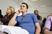 Students Listening to Lecture — Stock Photo
