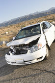 Crashed Car — Stock Photo