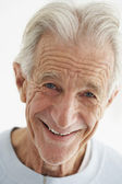 Closeup Of Old Man Smiling — Stock Photo