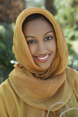 Muslim Woman In Traditional Clothing — Stock Photo