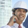 Happy Male Businessman On Call — Stock Photo #21797311