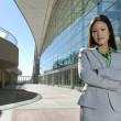 Beautiful Asian Business Woman - Foto Stock