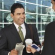 Businessmen Having Coffee Break — Stock Photo