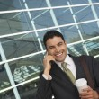 Businessman Using Mobile Phone — Stock Photo #21797015
