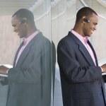 Businessman Using Laptop — Stock Photo #21797973