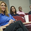 Stock Photo: Business Colleagues In A Seminar