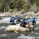 Whitewater Rafting — Stock Photo #21798505