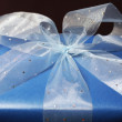 Present With Ribbon — Stock Photo