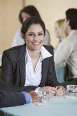 Businesswoman At Conference — Stock Photo