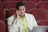 Businessman On A Call — Stock Photo