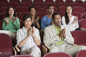 Applauding At A Performance — Stock Photo