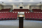 Empty Conference Auditorium — Stock Photo