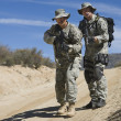 Two Soldiers During Training — Stock Photo #21800133