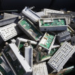 Stock Photo: Electronic Components In Bin