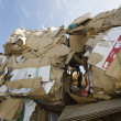 Stock Photo: Cardboard Boxes In Junkyard