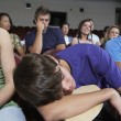 Bored Students In Lecture Theatre — Foto Stock
