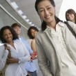 Happy Asian Female Teacher — Stock Photo #21803523
