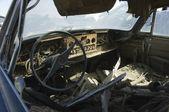 Old Broken Car — Stock Photo