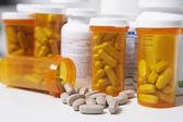 Pill Bottles — Stock Photo