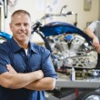 Motorcycle Shop — Stock Photo #21829453