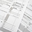 Tax Forms — Stockfoto