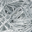 Steel Paperclips — Stock Photo
