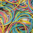 Colorful Rubber Bands - Stock Photo