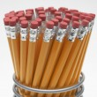 Pencils In Holder - Stock Photo