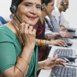 Customer Service Representatives — Foto Stock