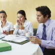Stock Photo: Business Colleagues In Meeting