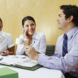 Business Colleagues In Meeting — Stock Photo