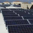 Array Of Solar Panels - Stockfoto