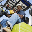 Forklift Driver — Stock Photo