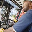 Forklift Operator — Stock Photo #21829597